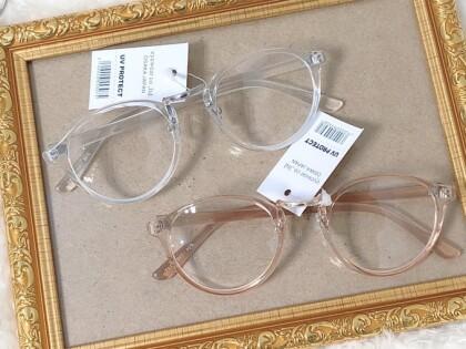 【プチプラファッション】秋のオシャレのマストアイテム!だてメガネも390円!!👓🍁