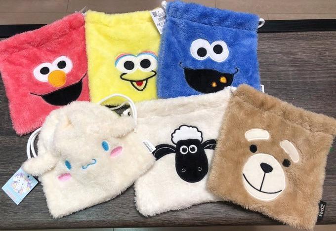 【全部で26種類!!】お店にある巾着集めてみた☆彡